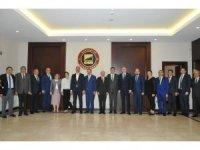 Başbakan Yardımcısı Şimşek ve Adalet Bakanı Gül'den GSO'ya ziyaret