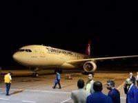 Yurtdışında toplam 60 ülkede kullanılan oyları taşıyan kargo uçağı Türkiye'ye geldi, Ankara Esenboğa Havalimanı'na iniş yaptı.