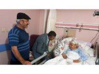Başkan Kaya'dan hastalara moral