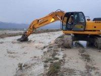 Burdur'da aşırı yağışlar taşkınlara neden oldu