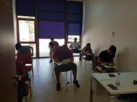 Öğrenciler bursluluk sınavına yoğun katılım gösterdi