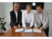 Simav Belediyesi'nden üçlü protokol