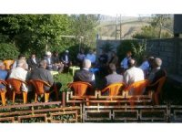 Kaymakam Özkan'dan köy ziyaretleri