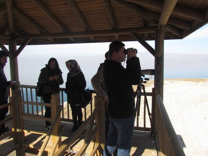 Öğrenciler, Keban Barajında Kuş Gözlemi Yaptı