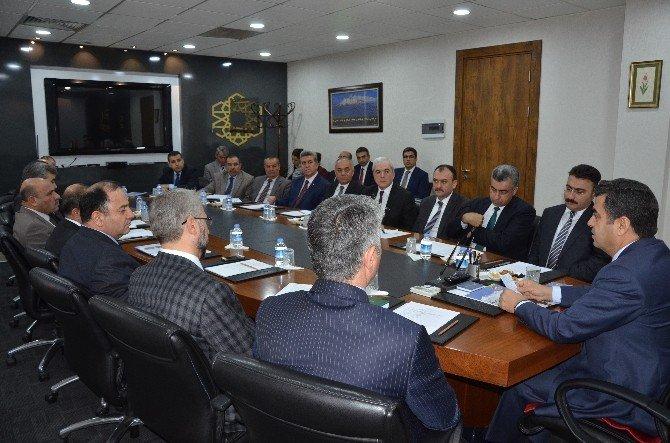 İl İdare Şube Başkanları Toplantısı Yapıldı