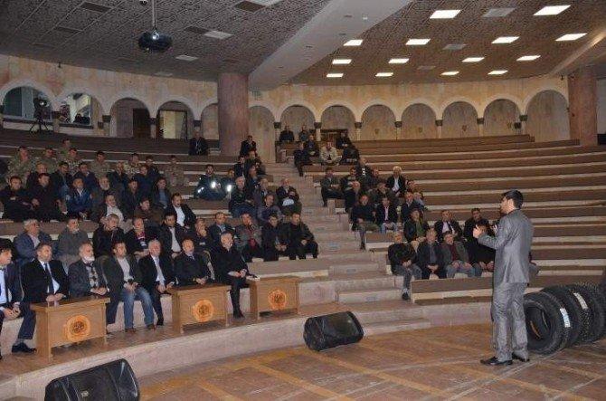 Nevşehir'de Telefon Dolandırıcılığı Bilgilendirme Toplantısı Düzenlendi