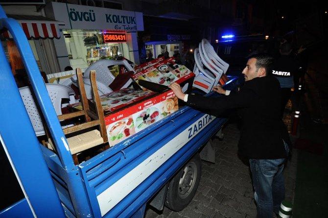 Karşıyaka'da 2 bin işyerine işgal cezası kesildi