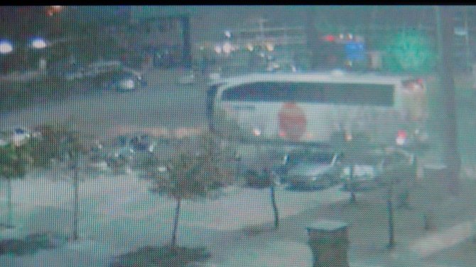 IŞİD üyesinin yakalanma anı güvenlik kamerasında