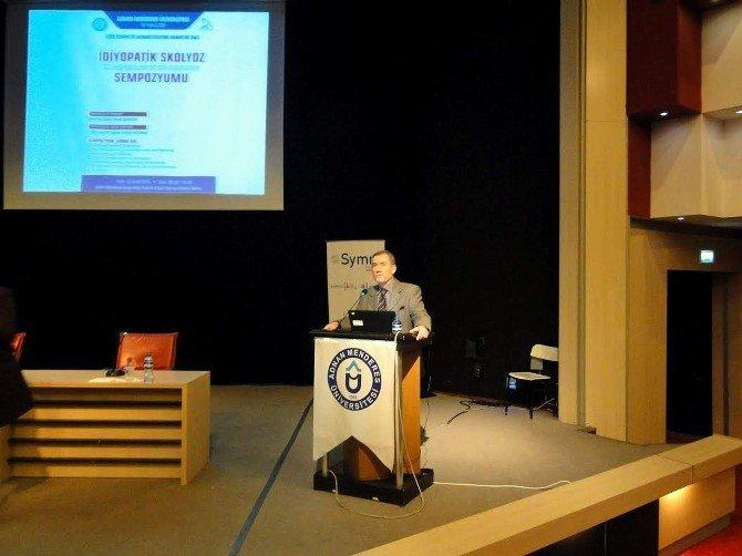 İdiyopatik Skolyoz Tanı Ve Tedavisindeki Gelişmeler Aydın'da Konuşuldu