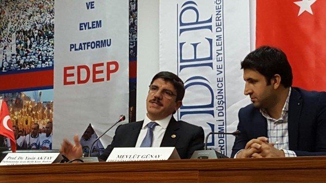 """AK Partili Yasin Aktay: """"Musul Petrolü Şuanda Esed'in Savaşını Finanse Ediyor"""""""