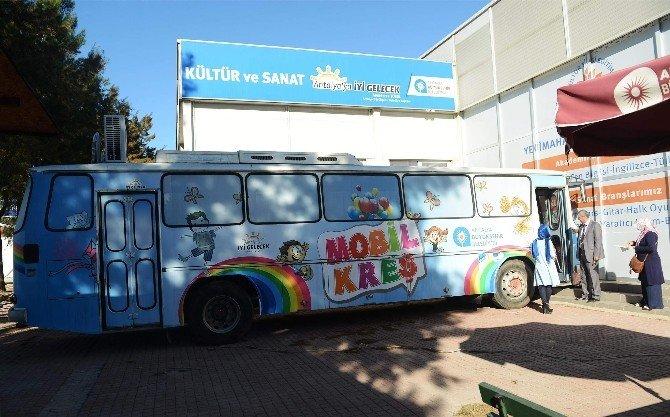 Antalya'da Mobil Kreş Dönemi