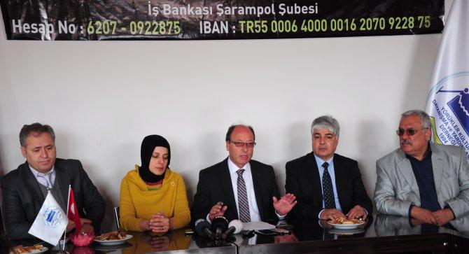 Yörükler, Suriye'deki Türkmenler için yardım kampanyası başlattı