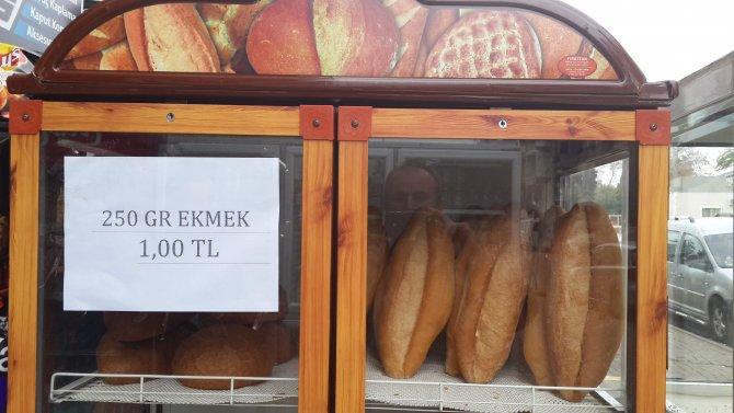 Aydın'da ekmek fiyatı 1 liraya yükseldi