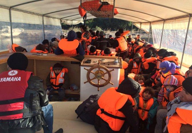 Aydın'da Suriyeli 203 kaçak göçmen yakalandı