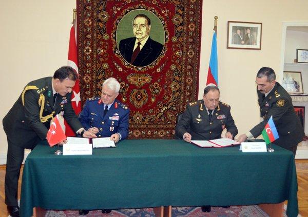 Azerbaycan-Türkiye 8. Üst Düzey Askeri Diyalog Toplantısı sona erdi