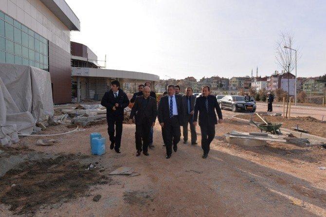 100 Yataklı Gediz Devlet Hastanesi İnşaatının Yüzde 85'i Tamamlandı