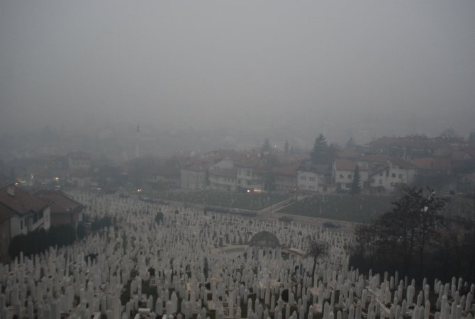 Bosna Hersek'te kirli hava vatandaşların sağlığını tehdit ediyor