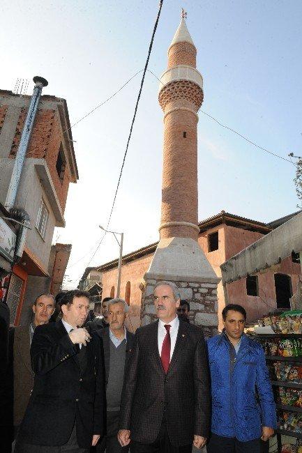 2 Asırlık Camii Büyükşehir İle Yenileniyor