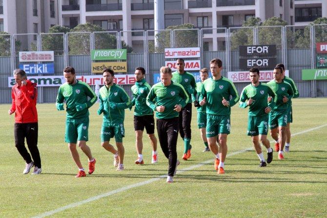 Bursaspor, Torku Konyaspor hazırlıklarına başladı