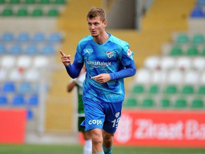 Bursaspor'un Attığı Gollerin Yarısına Necid İmzası
