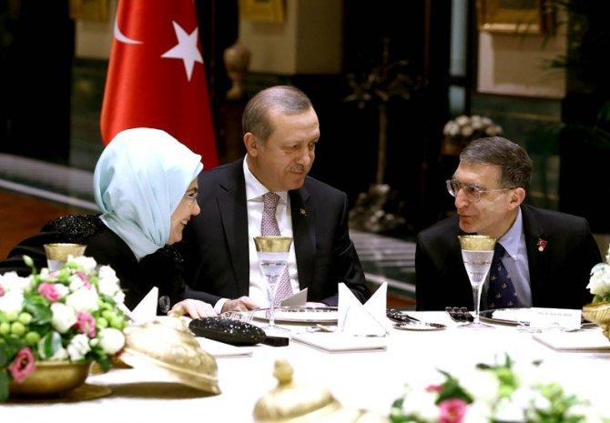 Erdoğan'dan, Nobel Kimya Ödülü Sahibi Prof. Dr. Sancar onuruna akşam yemeği