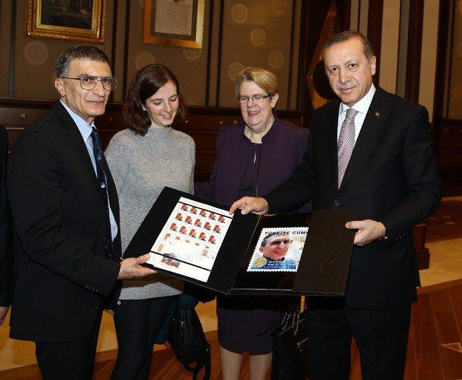 Cumhurbaşkanı Erdoğan, Prof. Aziz Sancar'ı kabul etti