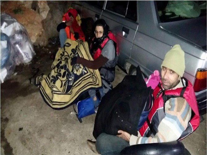 Aydın'da 182 Suriyeli Göçmen Yakalandı