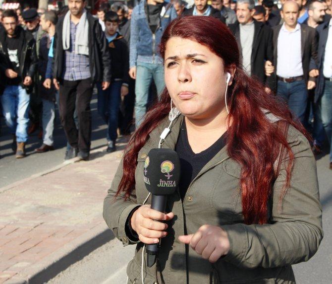 JİNHA muhabiri, gözaltına alındı