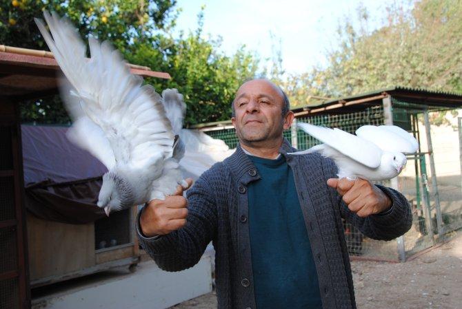 DSP'li Çakmak, Silivri'deki gazetecilere özgürlük için güvercin uçurdu