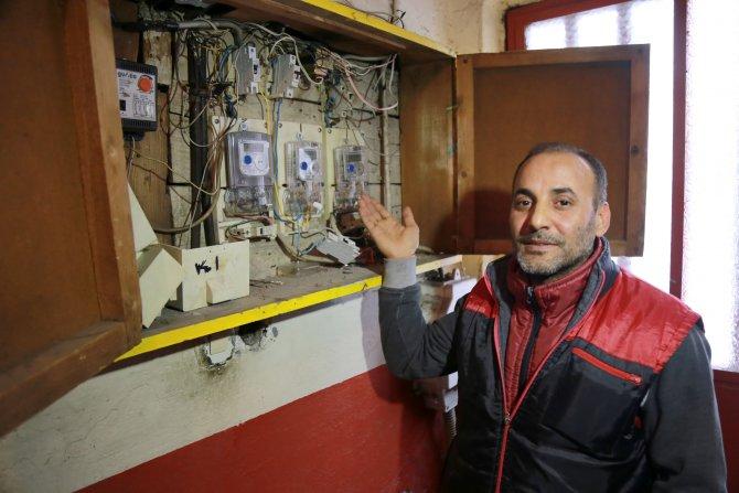 Elektrik kesintilerinden sayacı yandı 2 bin lira fatura geldi