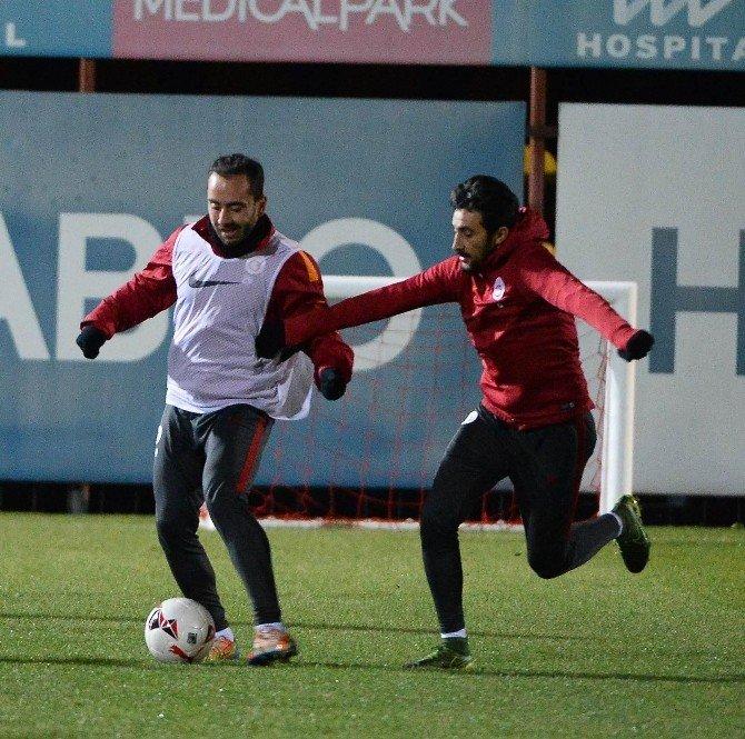 Galatasaray, Akhisar Belediyespor Maçı Hazırlıklarını Tamamladı