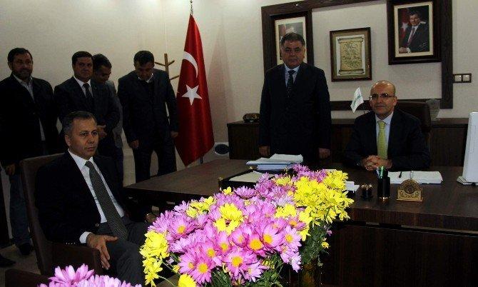 Mehmet Şimşek'ten Nurdağı'na Ziyaret