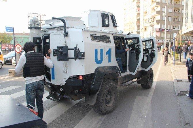Diyarbakır'da Sur Protestosu