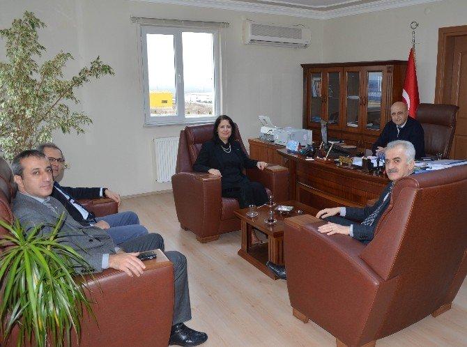 İŞKUR İl Müdürü Çildam'ın OSB Ziyareti