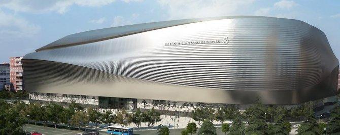 Madrid Belediyesi'nden Santiago Bernabeu projesine veto