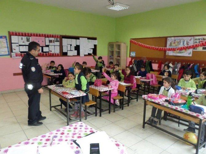 838 Öğrenciye Trafik Eğitimi Verildi