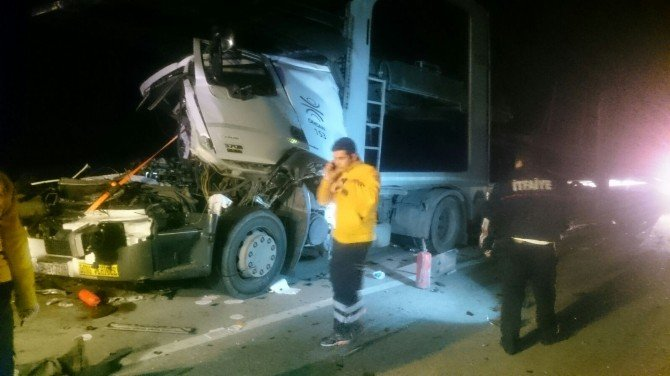 Afyonkarahisar'da Trafik Kazası: 1ölü