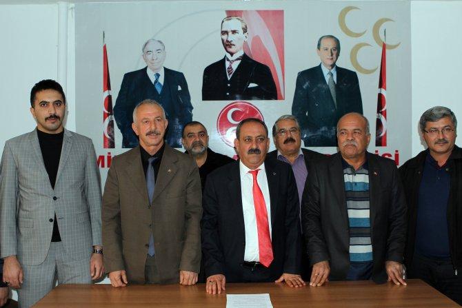 MHP Muğla İl Teşkilatı'ndan Bahçeli'ye destek
