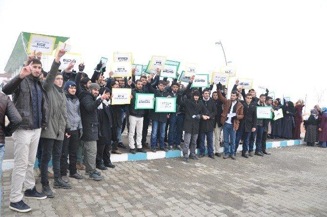 Üniversitelerdeki Saldırılar Protesto Edildi