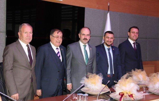 Ntso Ve Ntb Heyeti Nevşehir Milletvekillerini Ziyaret Etti
