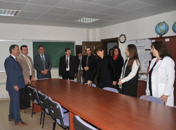 Başkan Bakıcı, Mustafa Şeker Anadolu Lisesi Öğrencileriyle Buluştu