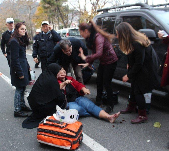 Ordu'da Kaza: 1 Yaralı