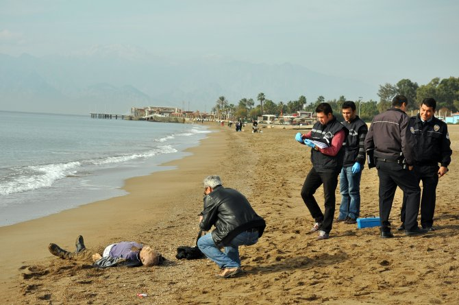 İsviçreli yaşlı şahsın cesedi sahilde bulundu