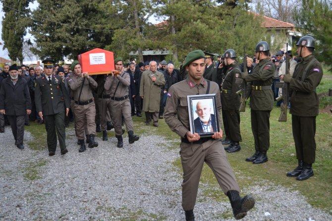 Kore gazisi, askeri törenle son yolculuğuna uğurlandı