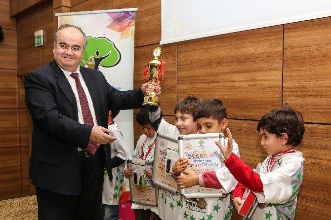 Şehitkamil, Minik Sporcuları Ödüllendirdi