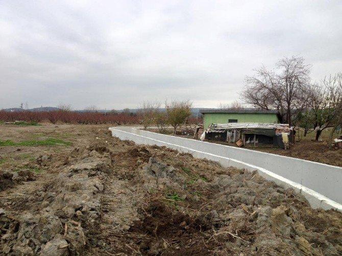 Suluca Köyü Taşkın Koruma İnşaatı Başladı
