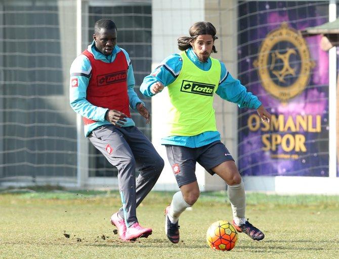 Osmanlıspor'da, Beşiktaş maçının hazırlıkları devam etti