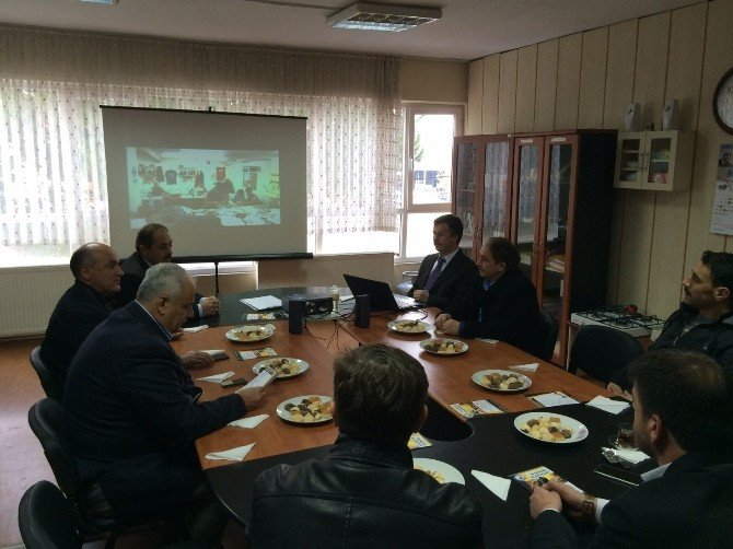 Esnaf Oda Başkanları Toplantıda Buluştu