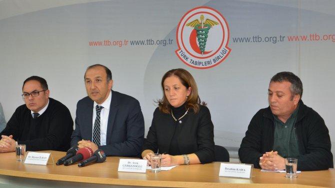 """TTB: """"Doğu'daki sağlık çalışanları zor şartlar altında hizmet veriyor"""""""
