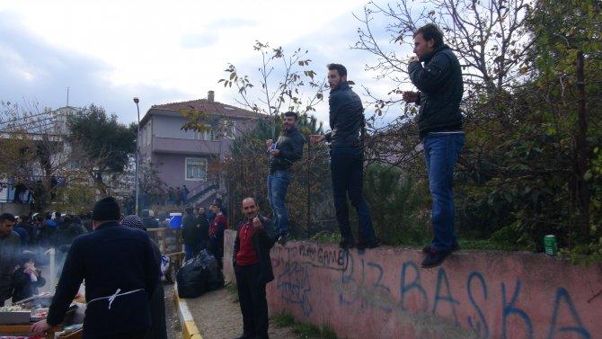 Fenerbahçe'yi seyretmek için her yolu denediler